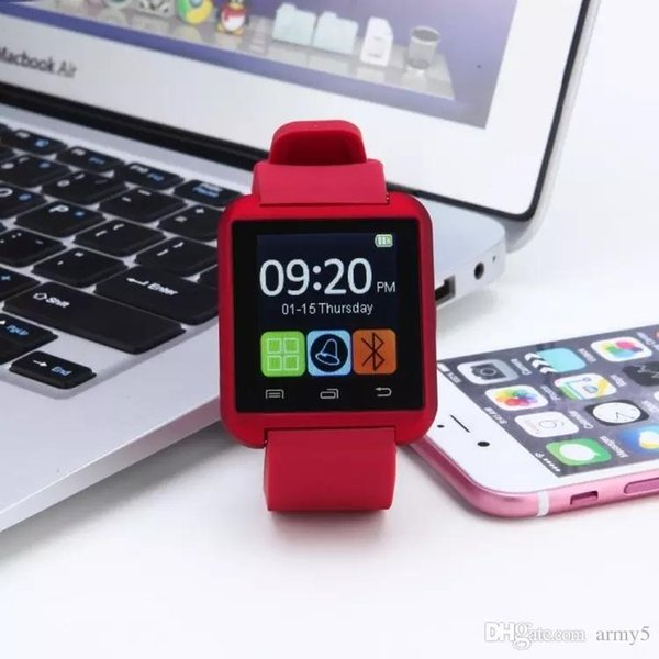 Bluetooth Smartwatch U8 U Watch Smart Watch Wrist Watches for iPhone 4 4S 5 5S Samsung S4 S5 Note 2 huawei Android Phone Smartpho OTH014