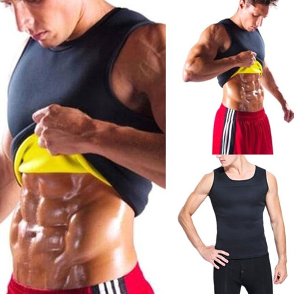 Men Running Vests Weight Loss Cincher Belt Mens Body Shaper Vest Trimmer Tummy Shirt Hot Girdle New Arrival Plus Size 3XL