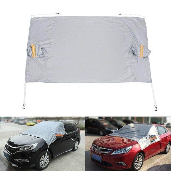 Hot parabrezza stagnole della finestra dello schermo di Sun della visiera della copertura anteriore dell'automobile posteriore UV Neve Protezione JLD