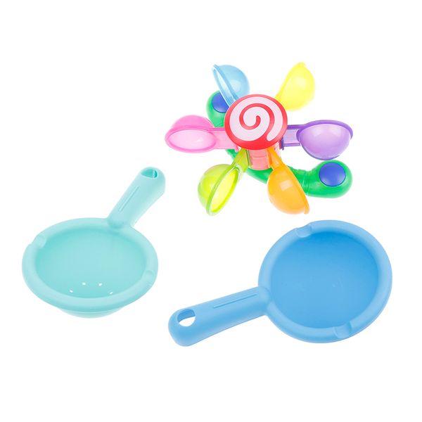 Baby Play In Scoop Water Мини-мельница Waterwheel Малыш Ванная комната Летний плавательный бассейн Игры Ванна Игрушка для купания Детские игрушки для ванной