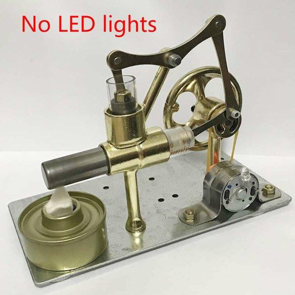 Stirling Engine Balance Motor Heat Steam Education DIY Model Craft Alternator