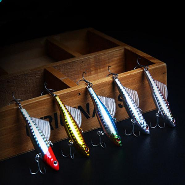 7cm 18g Fish Lures Wobbler Crankbait Winter Sea Hard Bait Fishing Lure VIB Bait Artificial Lure LJJZ395
