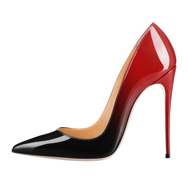 rojo con negro
