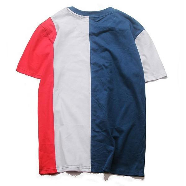 18SS Теперь PAL футболки Топы вскользь Простой улице с коротким рукавом Летний Дышащие Открытый Путешествие Пляж футболку