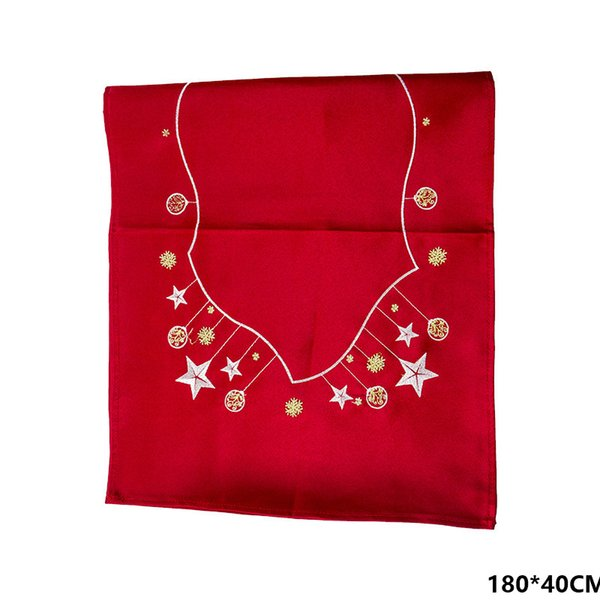 Red Tablecloth Star