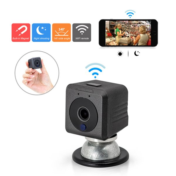 1801 Mini HD Video Camera Small Mini Pocket DV DVR Camcorder Recorder Mini DVR Cam с магнитным держателем поддержка WiFi дистанционного