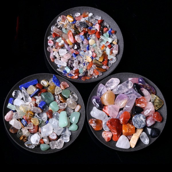 50g Tumbled Stone Beads and Bulk Assorted Mixed Gemstone Rock Minerals Crystal Stone for Chakra Healing Crystals and Gemstones for Dec