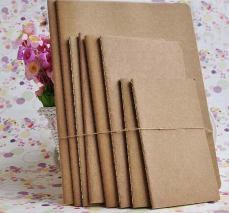 Lined Pages Travel journals notebooks Kraft Brown Soft Cover Notebook A5 Size 210 mm x 140 mm 60 Pages 30 Sheets