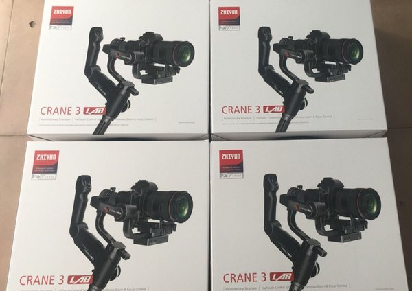 Zhiyun Crane 3 Lab Crane 2 Upgrade Version 3-Achsen-Gimbal-Stabilisator für DSLR-Kameras, 1080P Full HD Wireless-Bildübertragung