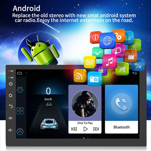Navigazione GPS per auto Radio Player Bluetooth Full HD 1080P 7 pollici Wifi Musica RAM 1 GB AS99