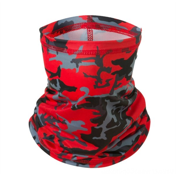 ice silk scarf [camouflage red]]