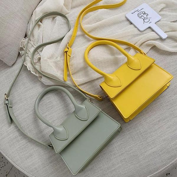 Mini Paquete Pequeño Cuadrado Bolso Bandolera Embrague Embrague Diseñador de la Mujer Bolsos Bolsos Ocio bolso de hombro Bolsos Mujer