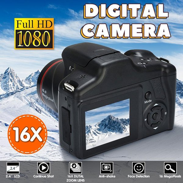 EastVita Digital Camera 720P 16X ZOOM DV Flash Lamp Recorder Wedding Record Digital Camera