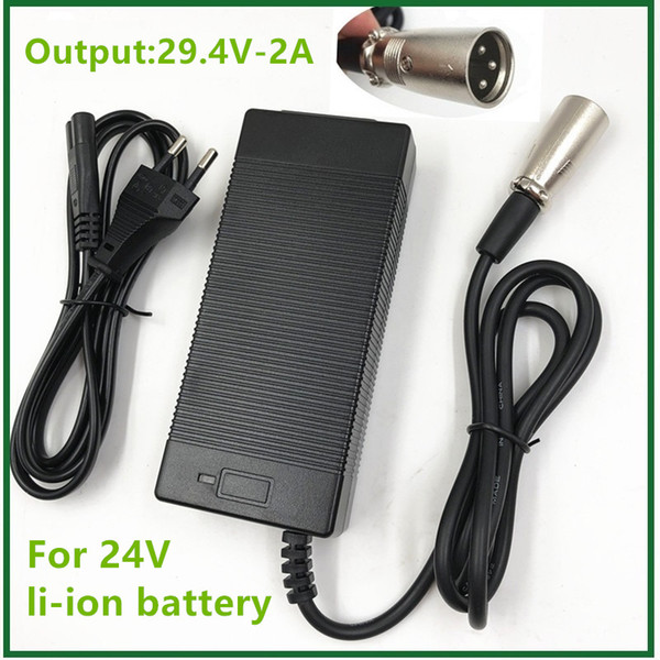 Wholesale electric connectors for sale - Group buy Chargers V E bike Li ion Lithium Battery Charger series Output V2A Electric Bike Lithium Battery Charger XLR Socket Connector