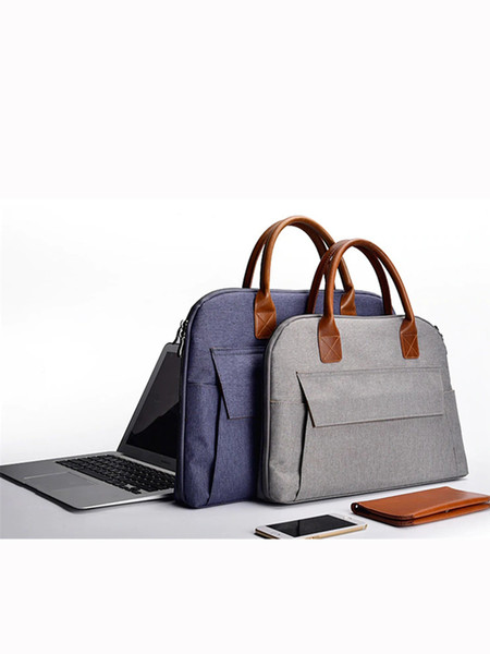 top popular Stylish for Laptop 15.6 inch Women Notebook bag woman and men Macbook Air 13 case for lenovo yoga Handbag 2020