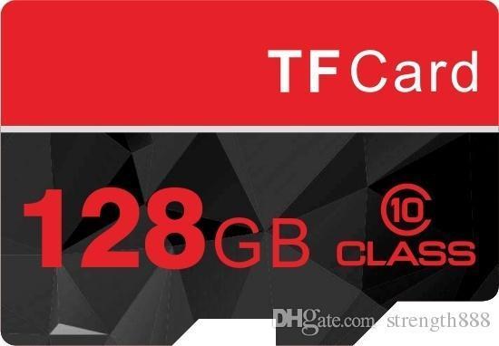 Gerçek Kapasite 32 GB-128 GB Sınıf 10 Mikro SD KART SDHC TF YÜKSEK PERFORMANSI Flash Bellek