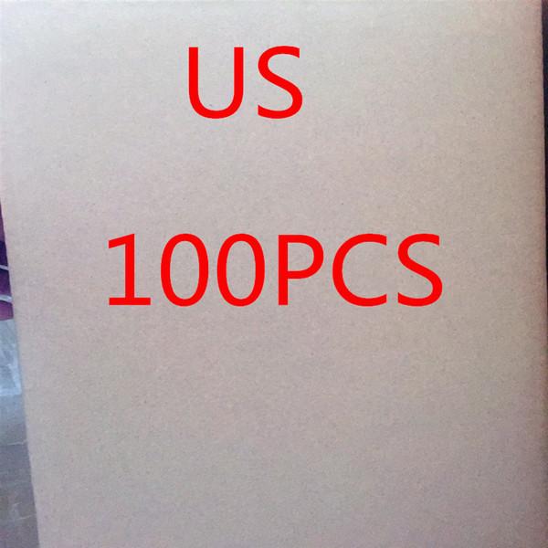 Kutu Ambalaj İyi TOP Kalite 5V 1A USB Duvar AB ABD Fiş Küp Adaptör Samsung HTC Telefon (100pcs için bir Box) için Şarj Şarj ile