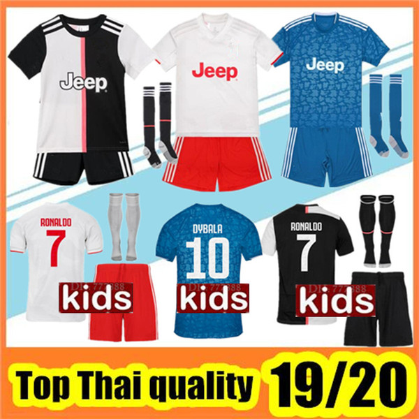 best selling 19 20 kids kit soccer jersey 2019 2020 child Football Shirt uniform