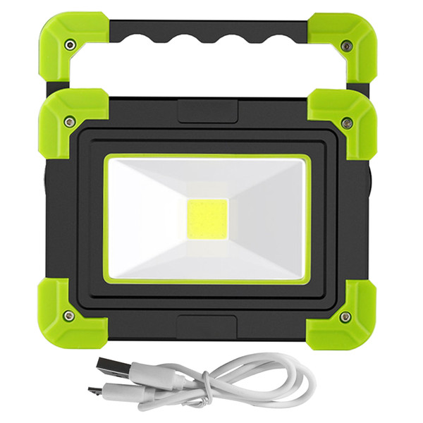 LED Camping Light,USB Rechargeable Flashlight Dimmable Spotlight Work Light Wate