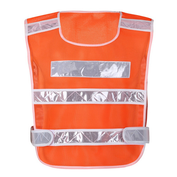 Erkekler Koşu Yelek Yüksek Görünürlük Yansıtıcı Kırmızı Sarı Trafik Motosiklet Gece Rider Güvenlik Açık Spor Güvenlik Yelek