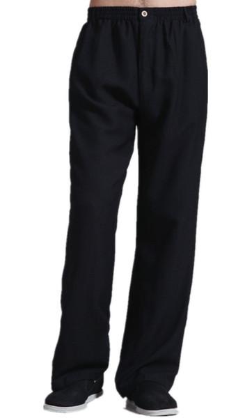 Envío gratis ropa de estilo chino tai chi pantalones sueltos pantalones KungFu kung fu traje taiji ropa 2 color