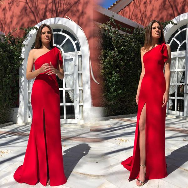 2019 cheap split Prom dress evening dress sexy party dresses sleeveless hot chiffon party dress boho long maxi evening party beach dresses