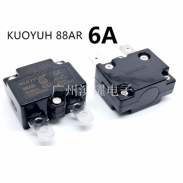 best selling Taiwan KUOYUH 88AR-6A Overcurrent Protector Overload Switch Automatic Reset