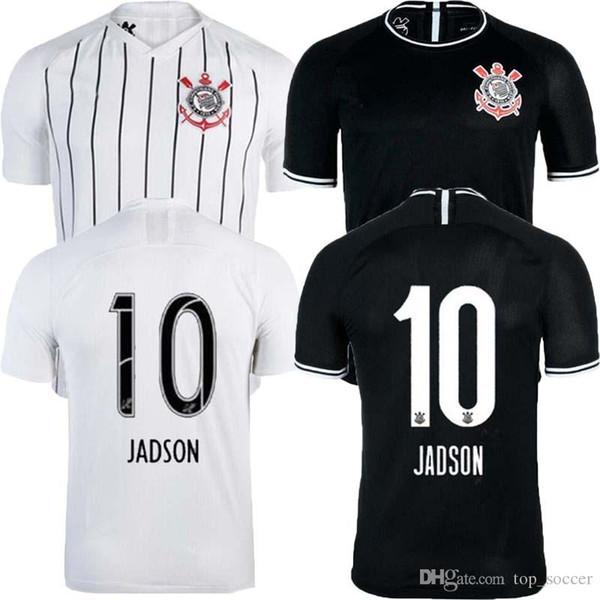 best Brazil Sport Club Corinthians 2019 2020 Soccer Jerseys JADSON RONALDO SOMOZA CLAYSON JANDERSON 19 20 Paulista football T-Shirts