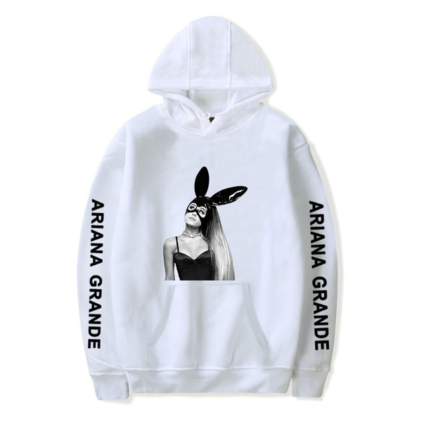 Kundschaft zuerst großer Rabatt Schönheit Großhandel Ariana Grande Damen Kleidung 3D Designer Hoodie Damen Herren  Luxus Sweatshirt Designer Pullover Hip Hop Streetwear Casual Marke  Sweatshirts ...