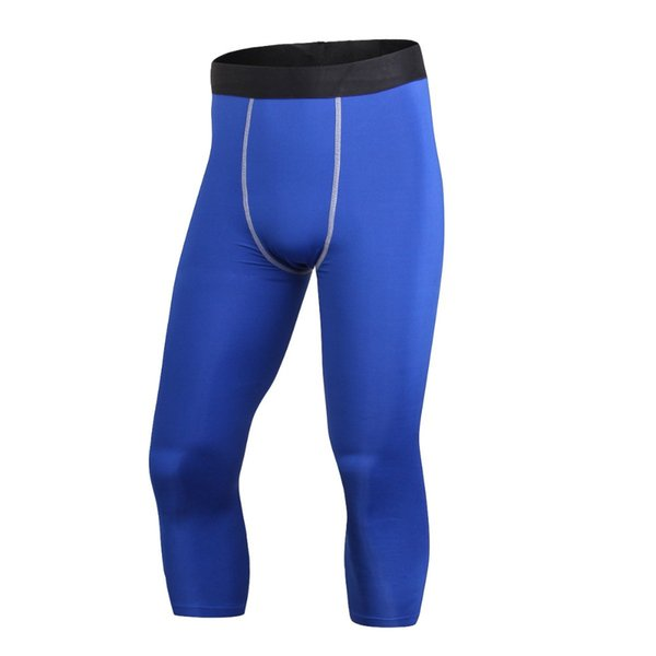 2017 new men sport compression base layer tights skin wear running pants trousers fitness gym pants w1 thumbnail