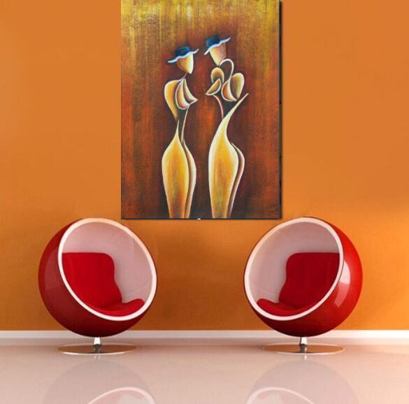 Лучшее ручное работа масло на современном холст для живописи женщины стены искусства картины для украшения гостиной спальни