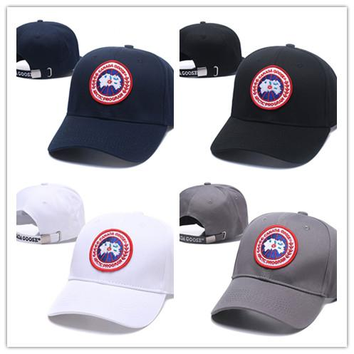Hot wholesale 100% Top Quality 2019 Newest goose Casquette Cap CANADA Adjustable Baseball Caps hip hop Hat Snapback bone Fashion dad hats
