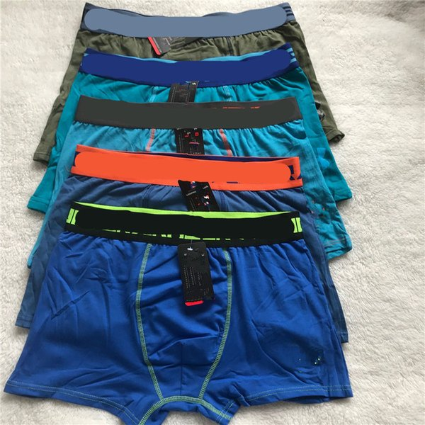 best selling Men Brand Cotton Underwear Fashion U& Letter Boxers Breathable Underpants Letter Print Shorts Mens Cuecas Tight Waistband Underpant 10pc
