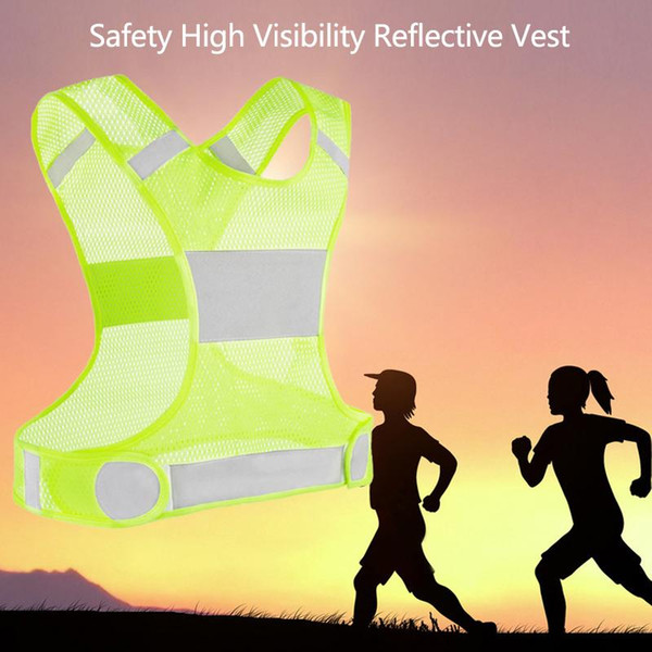 best selling 2 Color Safety High Visibility Reflective Vest Running Construction Traffic Warehouse