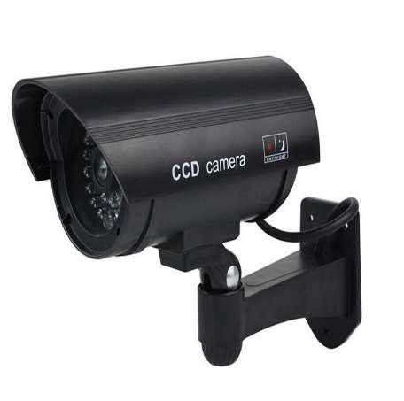 Keeper Waterproof Dummy Fake CCTV Camera With Flashing LED For Outdoor or Indoor Realistic Looking fake Camera for Security