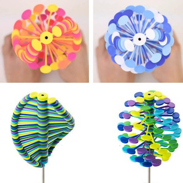 New Style Gadgets Magic Rotating Spin Toy Lollipopter Stress Relief Toys Creative Decompression Toy Rotating Lollipop For Children Adult