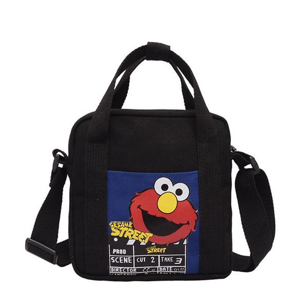 Японский милый холст косая маленькая девочка сумка мультфильм карман студент симпатичная чистая красная спортивная мини сумка для мобильного телефона девушка сумка