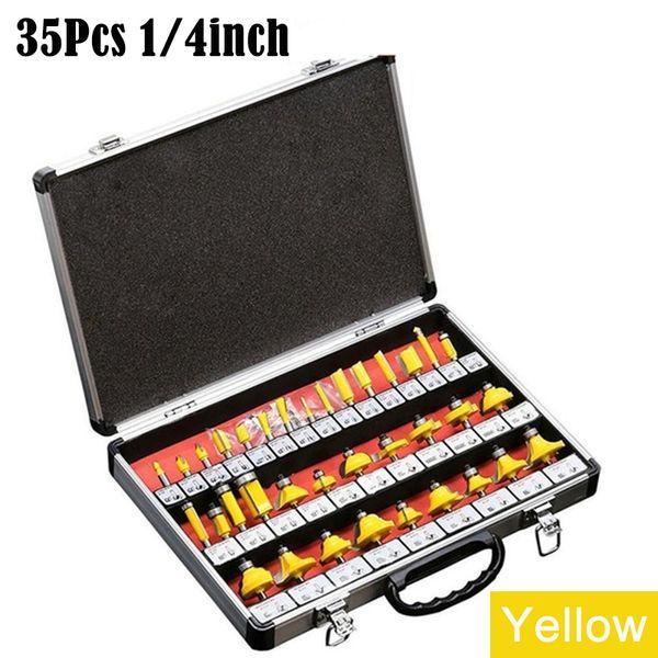 أصفر 35PCS / مجموعة