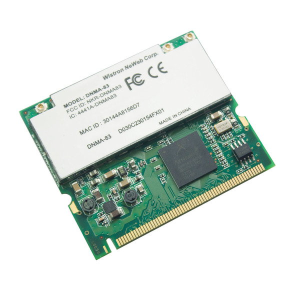 DNMA-83 AR9160 300M scheda wireless 5G dual band Mini PCI IPC / ROS 802.11a / b / g / n WLAN Wi-Fi
