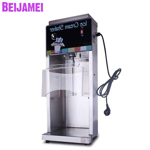 BEIJAMEI Wholesale Ice cream flurry maker swirl ice cream shaker fruit yogurt ice cream blender electric milk shake mixer