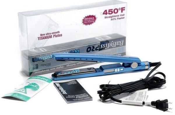 NUEVOS planchas para el pelo! PRO Na-n! Titanio 1 1/4 enderezadora placa plana hierro iónico de pelo de alta calidad