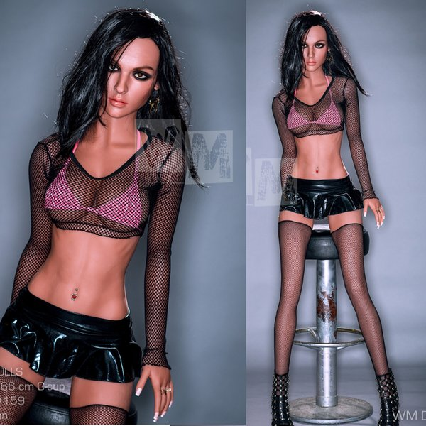 166cm High Quality Sex Doll With Metal Skeleton Black Eyes Real Sexy Dolls Silicone Realistic Pussy Adult Sexuelle Toys for men