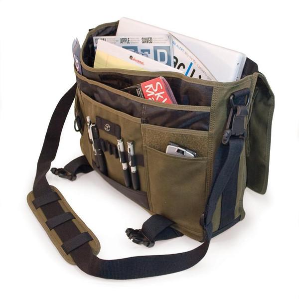 Women Men Environmental Protection Canvas Messenger Bag Multi-function Type Notebook Tablet Pc Trade Pop Free Fashion