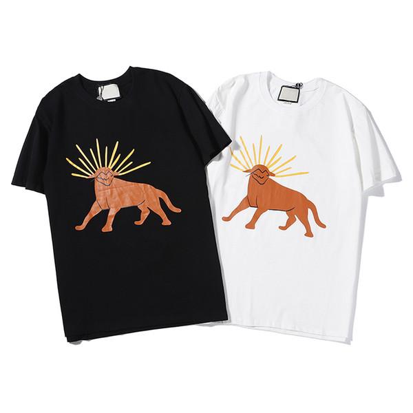 Summer Fashion Designer T-shirt Luxury T-shirt Brand T-shirt Streetwear 2 Colors Black White B102107Z