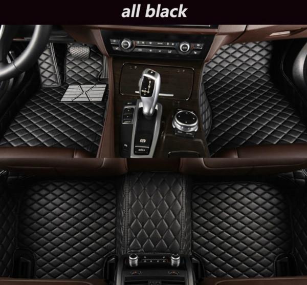 Tapis de sol de luxe Volvo XC40 2019-2020 entouré d'un tapis de voiture en cuir imperméable résistant à l'usure et épaississant