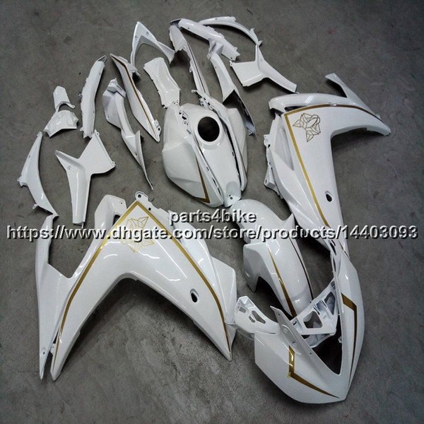 23colors+Gifts white Injection mold motorcycle Fairing For yamaha R3 YZF-R25 2015 2016 ABS motorcycle hull