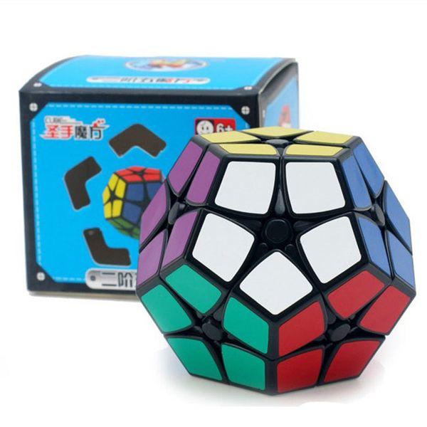 Mini Megaminxedes 2x2x2 Enigma Velocidade Magic Cube Sticker Professional Educacional 12-side Brinquedos Para Crianças