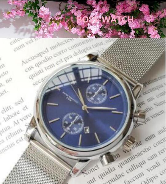 Top Brand Известный популярный тип Luxury Gold Mesh стали Кварцевые Мужские часы Повседневный Спорт наручные часы Мужской Relogio Мужчина для