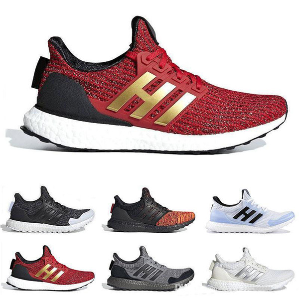 With box Game Of Thrones X Ultraboost 4.0 Running Shoes For Men Women Nights Watch House Stark Lannister Mens Trainer Outdoor Sneakers