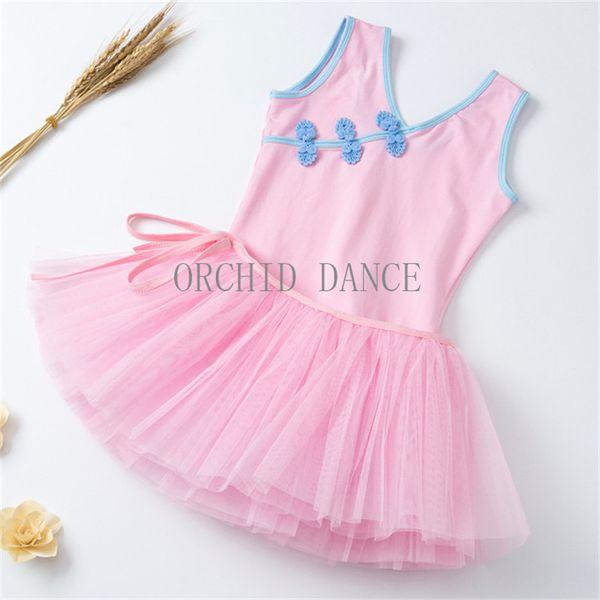 Cheap Kids Girls Ballet Dance Wear Set